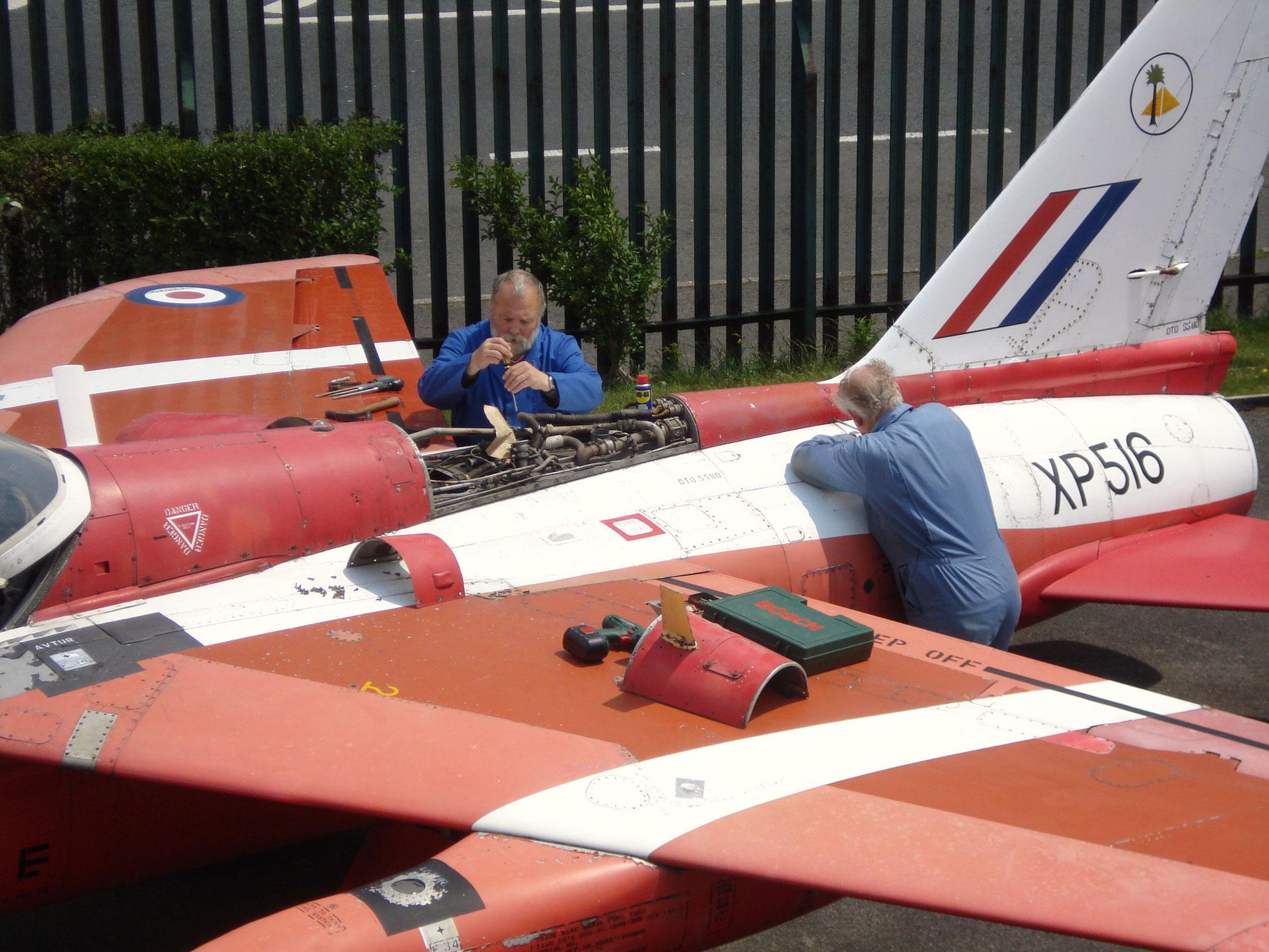 Volunteering at Farnborough Air Sciences