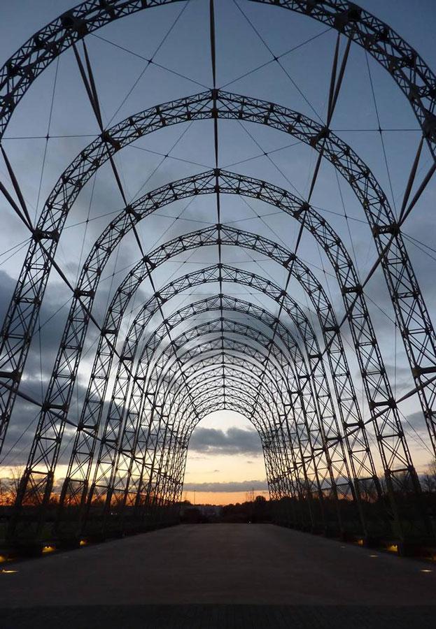 Farnborough Balloon Hangar