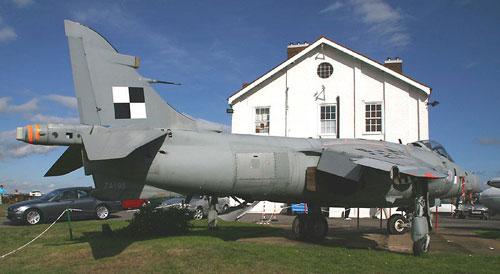 Farnborough Air Sciences Museum Sea Harrier