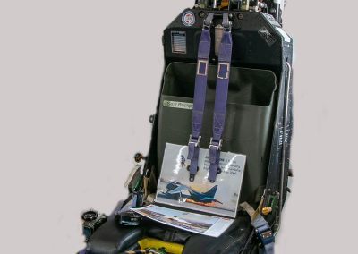Mk9 Martin Baker Ejection Seat (single handed gas operated seat firing system fitted to early Harrier and Jaguar aircraft)