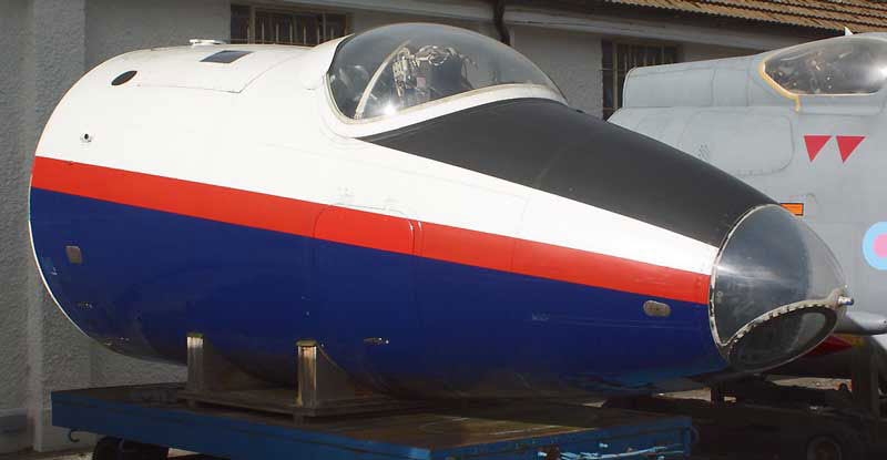 English Electric Canberra Nose Section