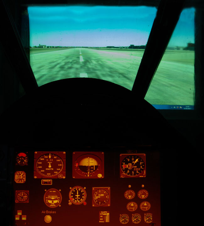 English Electric Lightning F1A Flight Simulator