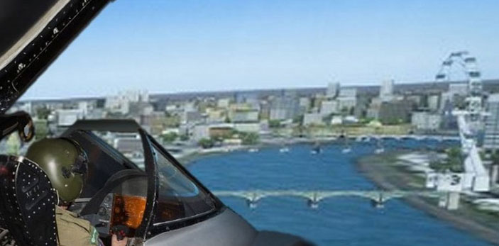 English Electric Lighning F1A Flight Simulator