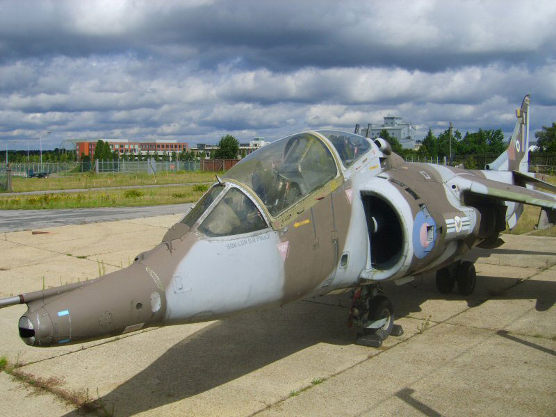 Hawker Sidderley Harrier Trainer