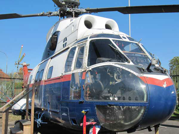 Aerospatiale Puma Helicopter