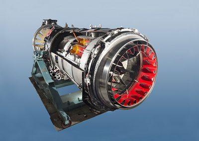 Rolls Royce Conway Jet Engine Cut Away