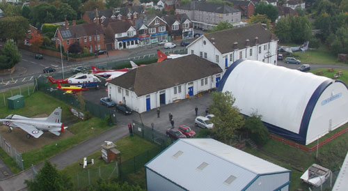 Farnborough Air Sciences Museum Aerial