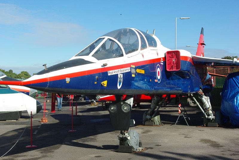 Sepecat Jaguar at Farnborough Air Sciences Museum